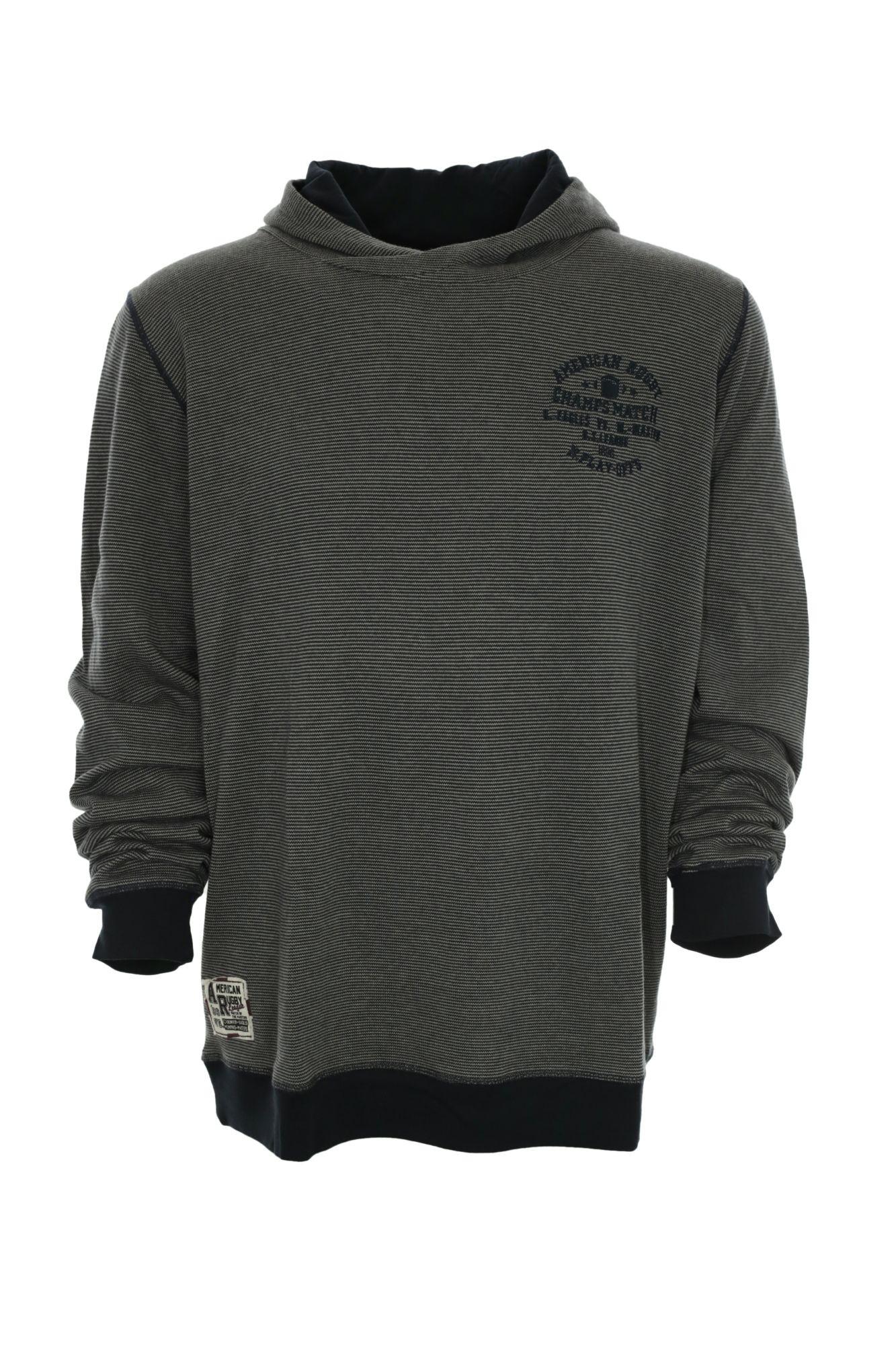 kitaro pullover hoody hoodie herren langarm extra lang. Black Bedroom Furniture Sets. Home Design Ideas