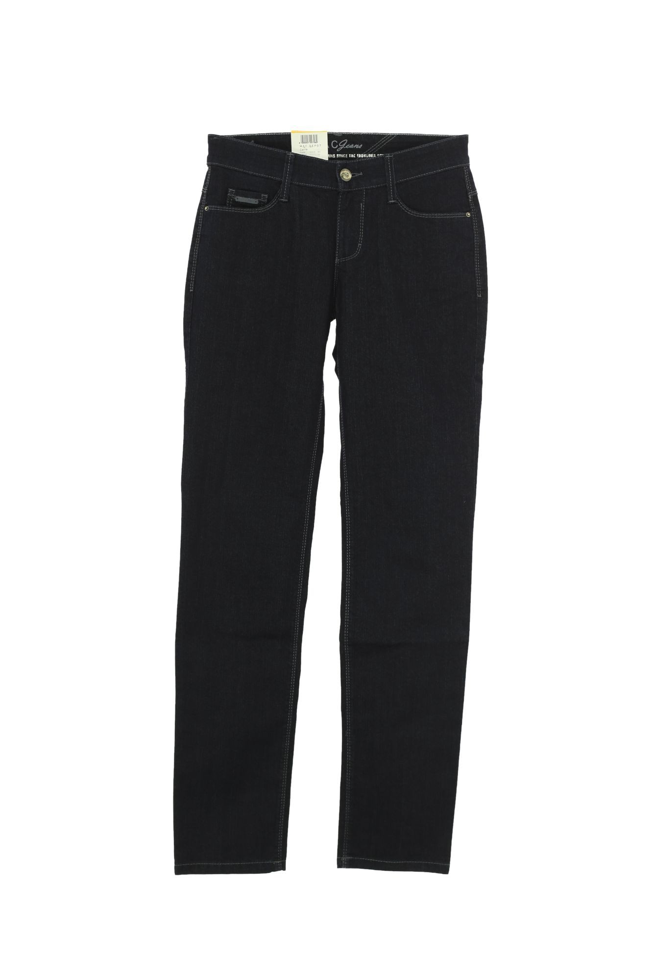 mac jeans carrie pipe damen stretch straight fit ebay. Black Bedroom Furniture Sets. Home Design Ideas