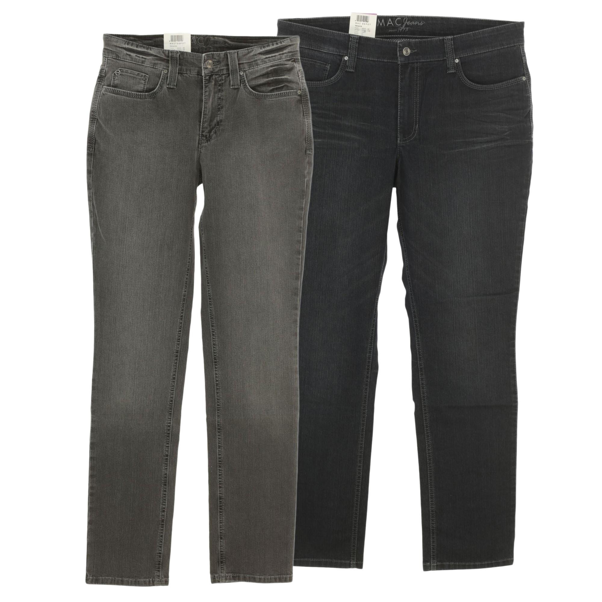 mac jeans melanie damen stretch feminine fit. Black Bedroom Furniture Sets. Home Design Ideas