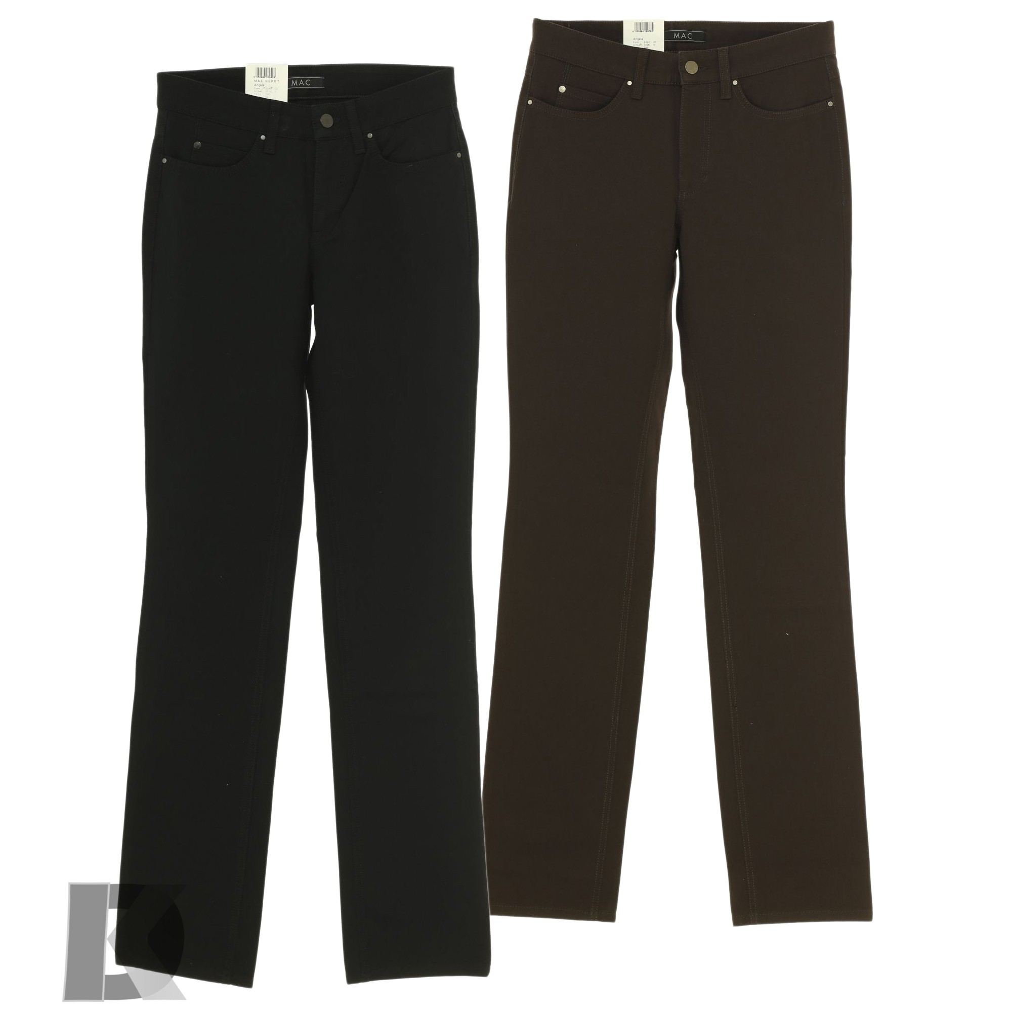 mac jeans angela damen stretch gabardine ebay. Black Bedroom Furniture Sets. Home Design Ideas