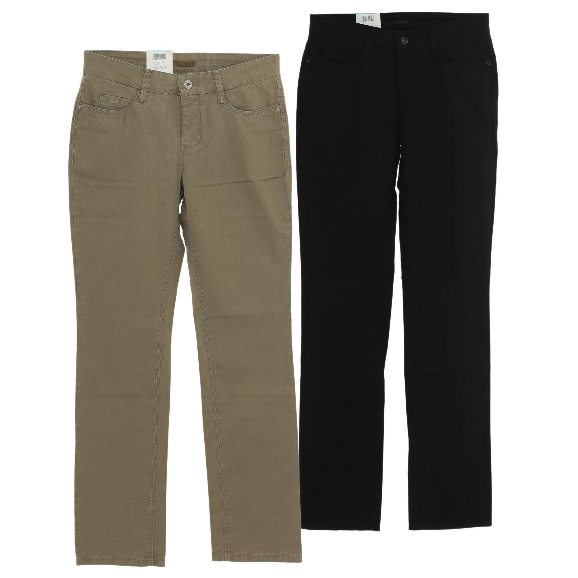 mac jeans angela lifetime damen stretch gabardine. Black Bedroom Furniture Sets. Home Design Ideas