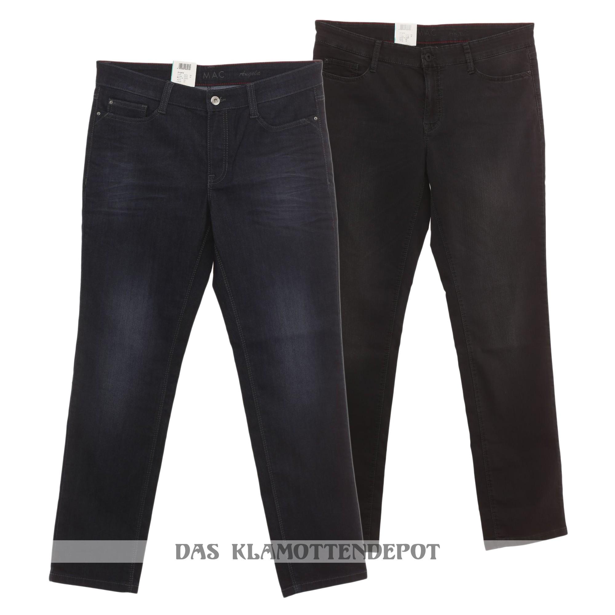 mac jeans angela soft pipe stretch damen ebay. Black Bedroom Furniture Sets. Home Design Ideas