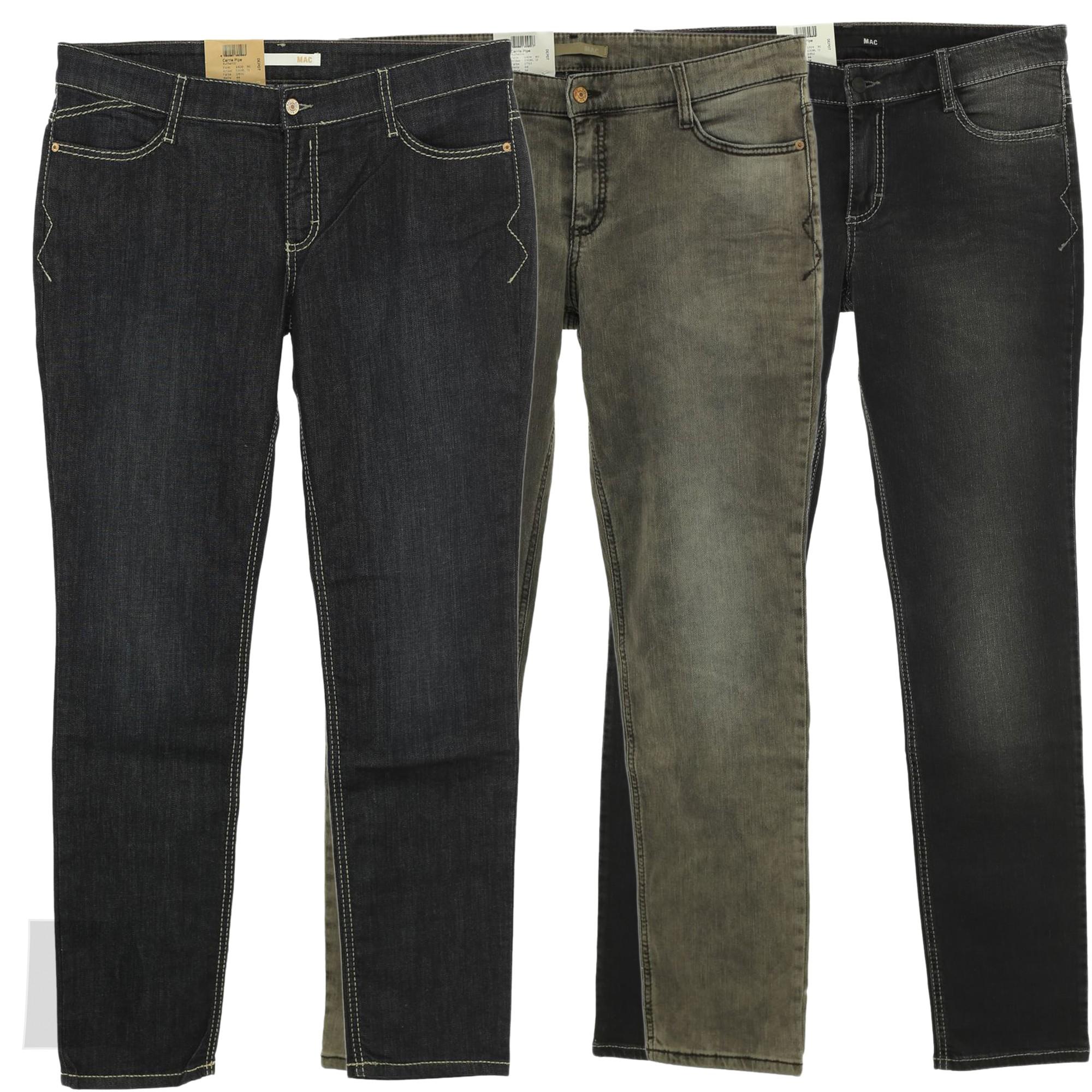 mac jeans carri pipe authentic damen stretch ebay. Black Bedroom Furniture Sets. Home Design Ideas