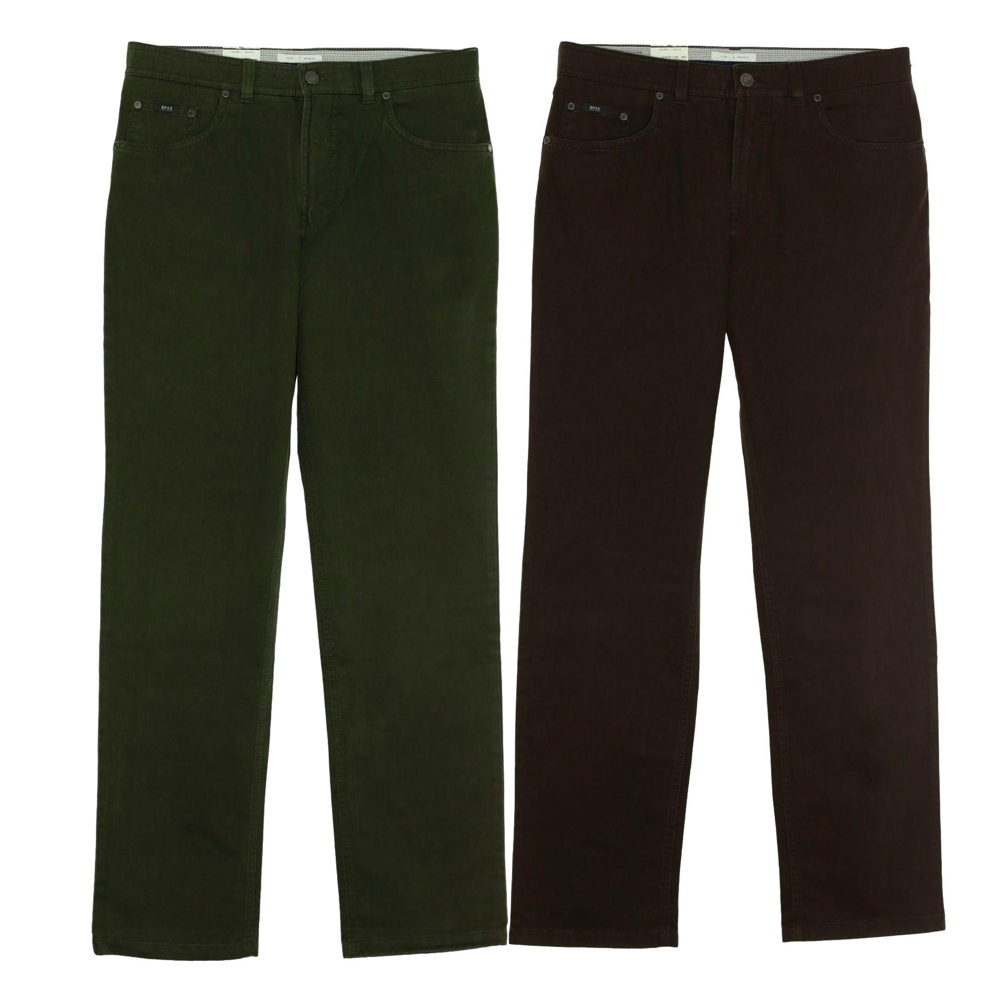 brax jeans cesar herren gabardine atmungsaktiv stretch ebay. Black Bedroom Furniture Sets. Home Design Ideas